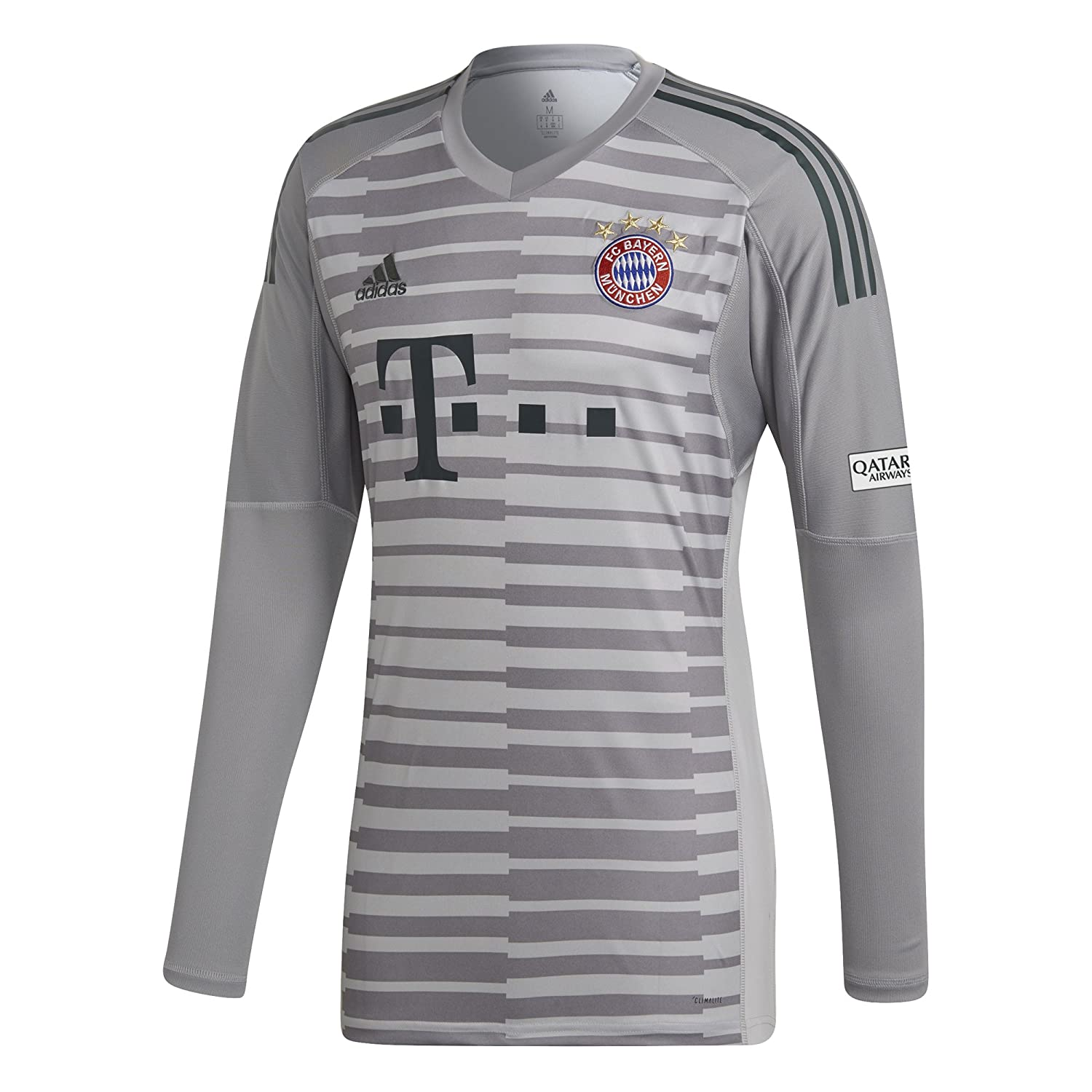 separation shoes 158e7 14159 adidas 2018-2019 Bayern Munich Home Goalkeeper Shirt