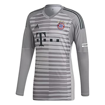 separation shoes 1b30e 07e13 adidas 2018-2019 Bayern Munich Home Goalkeeper Shirt