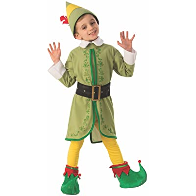 Rubie\'s Costume Buddy The Elf Boys Costume: Toys & Games [5Bkhe0503496]