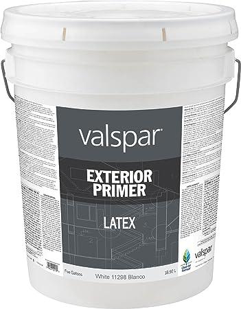 Valspar 11298 Professional Exterior Latex Primer 5 Gallon House Primers Amazon Com