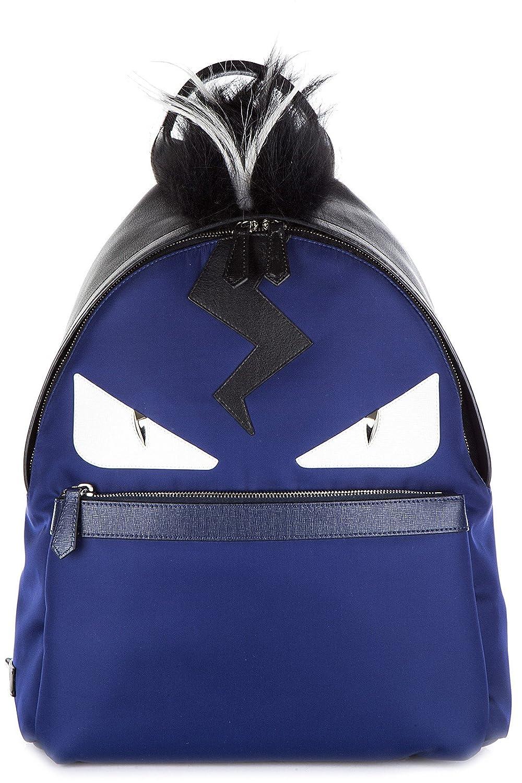 06e8989aae Amazon.com  Fendi men s rucksack backpack travel stondato occhi mostro blu   Shoes