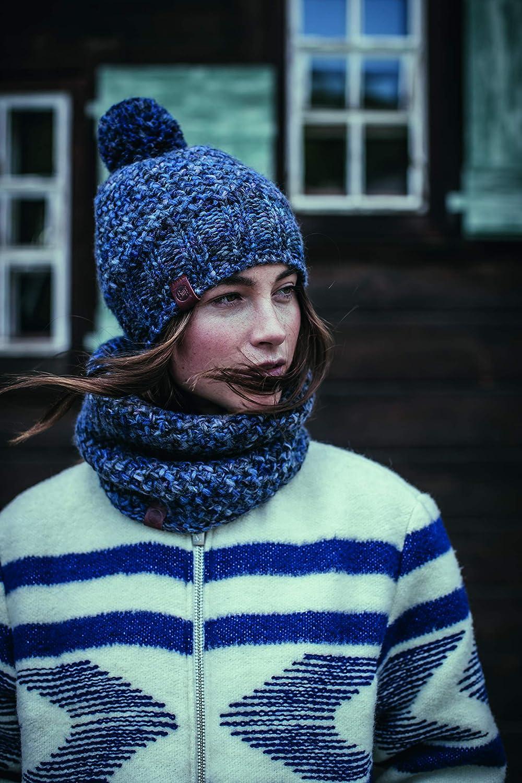 Buff Agna Rusty Bonnet tricot/é Polaire Mixte