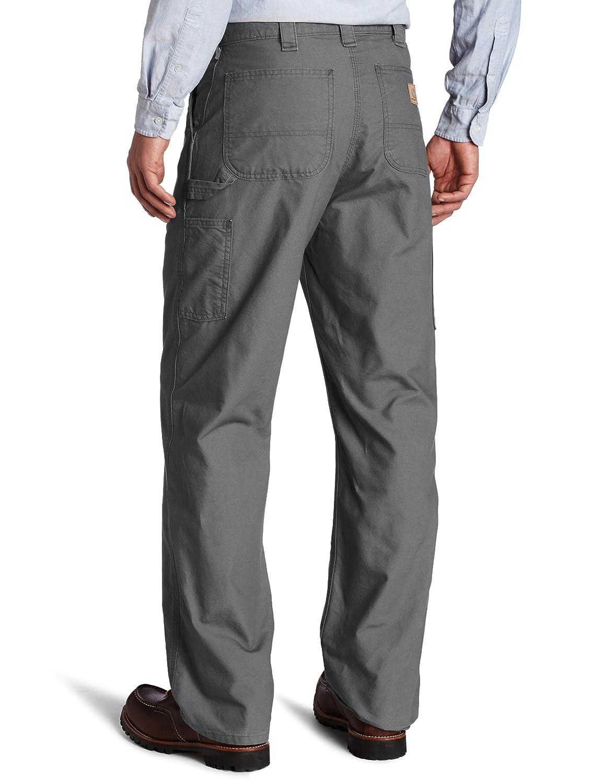 8b0ead58f3 Amazon.com: Carhartt Men's Canvas Work Dungaree Pant B151: Clothing