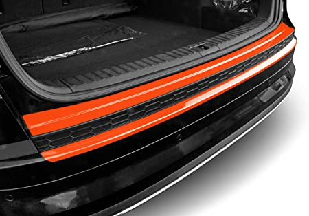 Luxshield Ladekantenschutz Folie Komplettset Kodiaq Ns7 I 2017 2020 Stoßstangenschutz Kratzschutz Lackschutzfolie Transparent Glänzend Selbstklebend Auto