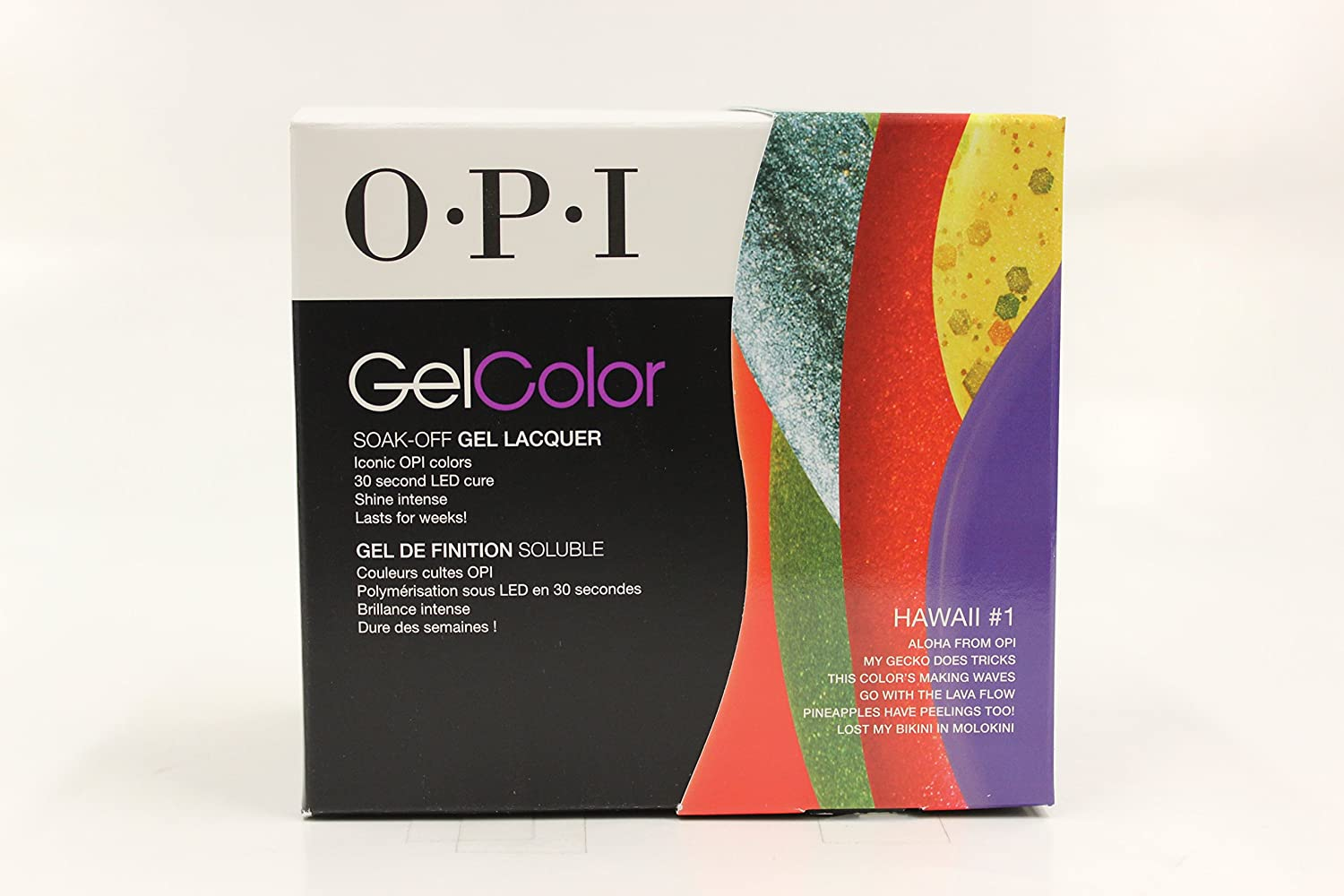 OPI Laca De Uñas De Gel, Hawaii Kit 15 ml – pack de 6: Amazon.es: Belleza