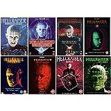 Hellraiser 1-8 Complete DVD Collection : Hellraiser 1 / Hellraiser 2 - Hellbound / Hellraiser 3 - Hell On Earth / Hellraiser 4 - Bloodline / Hellraiser 5 - Inferno / Hellraiser VI: Hellseeker / Hellraiser VII: Deader / Hellraiser VIII: Hellworld
