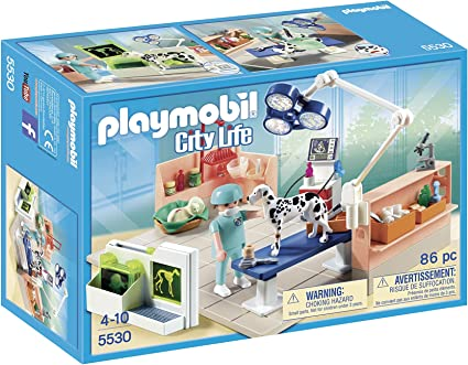 PLAYMOBIL Veterinaria - Quirófano de Animales, playset (5530 ...