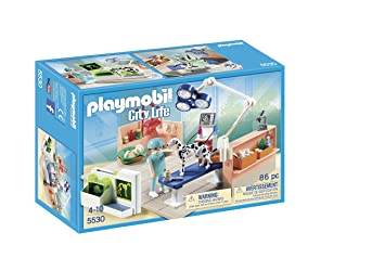 Playmobil Veterinaria - Quirófano de animales, playset (5530): Amazon.es: Juguetes y juegos