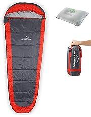 Saco de Dormir MOUNTREX® - Ultraligero y Compacto (850g) | Saco de Dormir