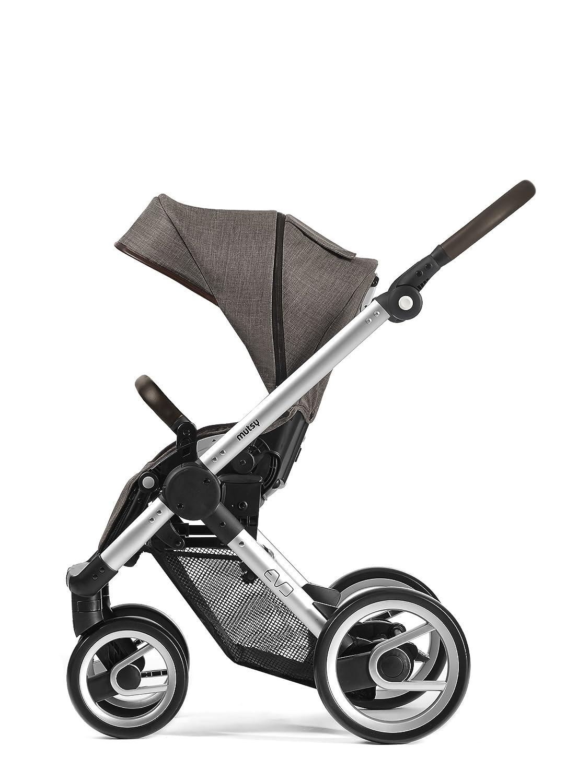 Mutsy Evo Farmer Edition Stroller, Silver Chassis Earth