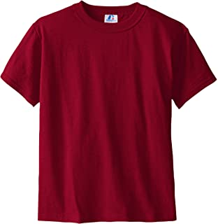 452ec01a Amazon.com: Russell Athletic Youth NuBlend Tee, Navy - MD - 10/12 ...