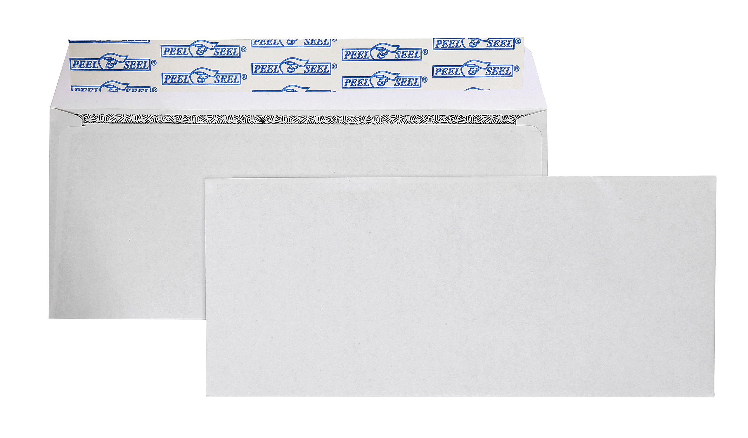 #9 Self Seal Return Envelope Security Tinted Envelopes-Peel to Seal Envelope-3-7/8x8-7/8-Inch White Envelopes-Business Envelopes (500/Box) by EnDoc