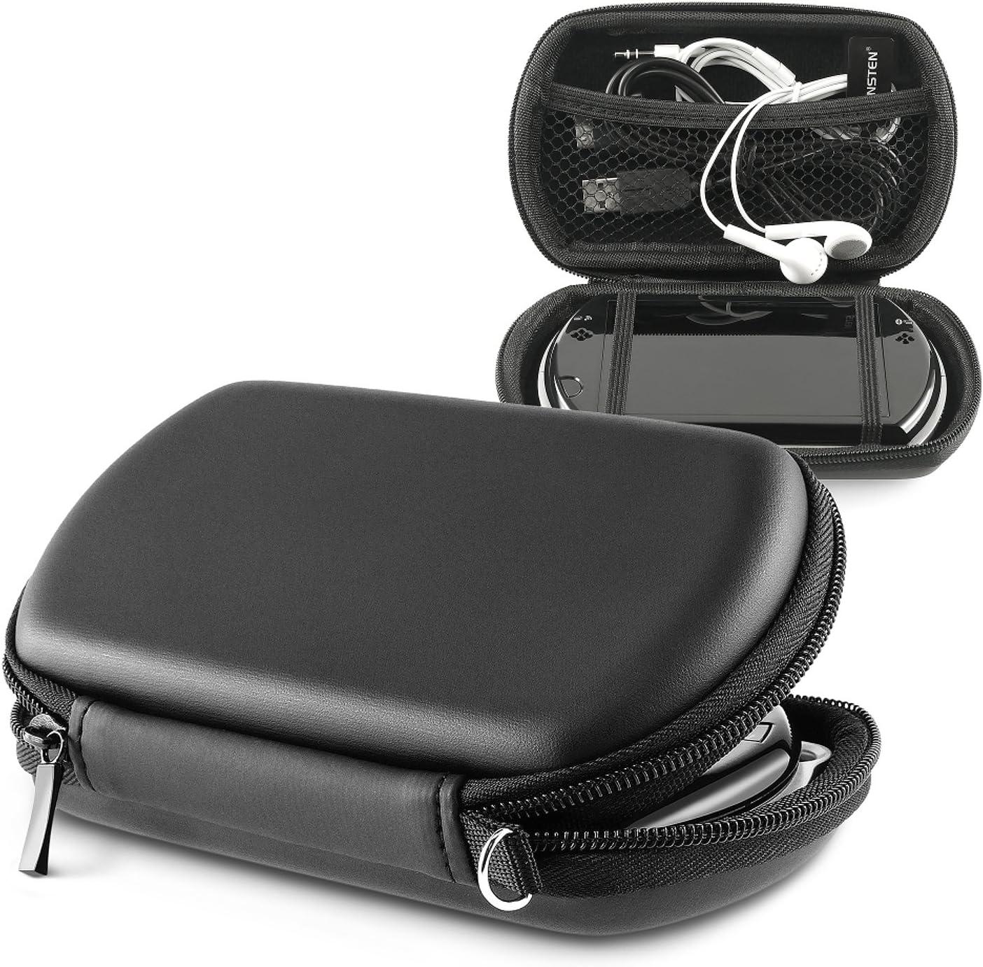 Insten el PSP Go PSPGo accesorios. Prima duro Nuevo Negro airform caso que lleva de Sony PSP Go: Amazon.es: Videojuegos