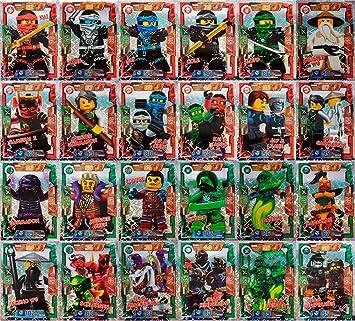 LEGO Ninjago - Todos 24 Tarjetas especiales como juego ...