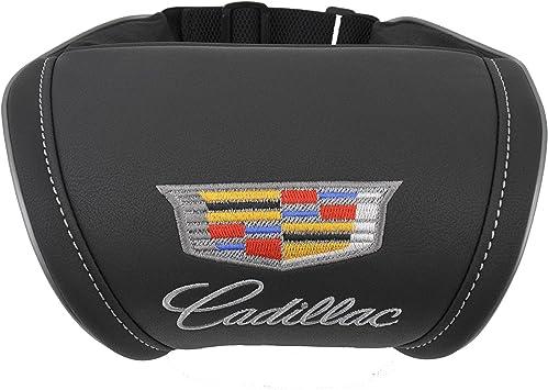 Amazon.com: Cadillac accesorios interior piel negro ...