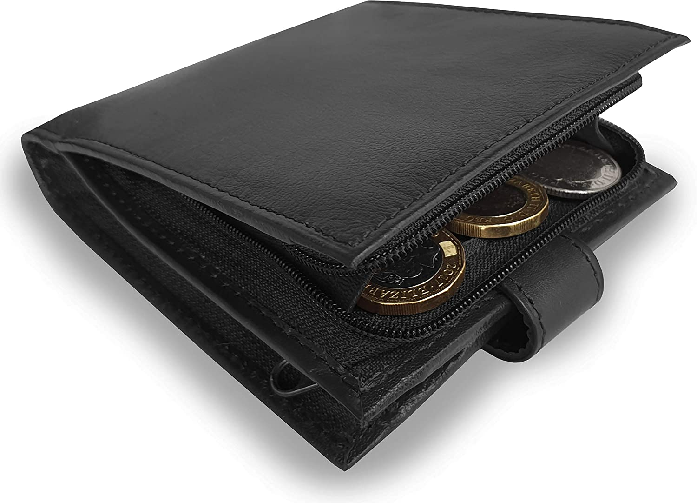 Roamlite Cartera negro RFID Blocking Standard Wallet Size