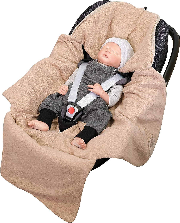 Manta envolvente para el cochecito certificado bosque verde azul silla de paseo ULLENBOOM Arrullo beb/é para verano e invierno 0-9 meses