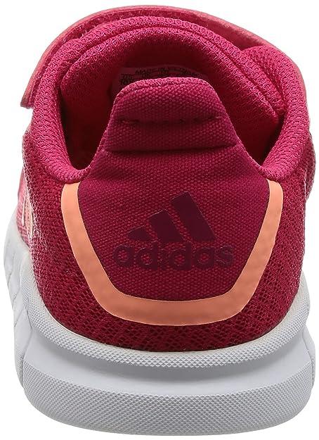 Adidas Rapidaflex EL I, Zapatillas Unisex Bebé, Rosa (Rosene/Brisol/Rubmis), 26 EU