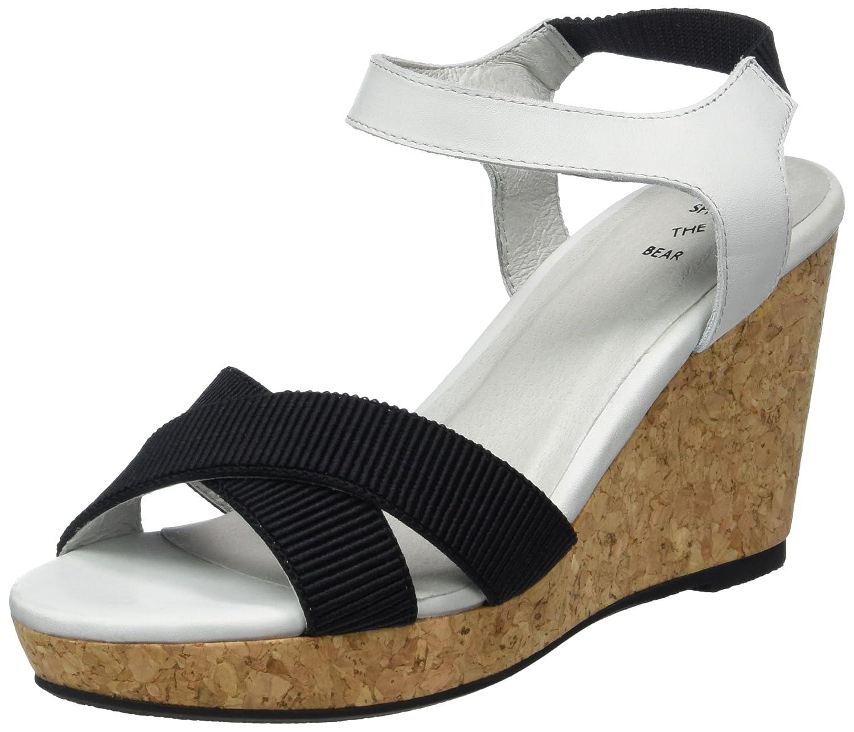 Schuhe Schuhe Schuhe The Bear Damen ALEC L Plateau  Mehrfarbig (170 Blau) 4f4a49