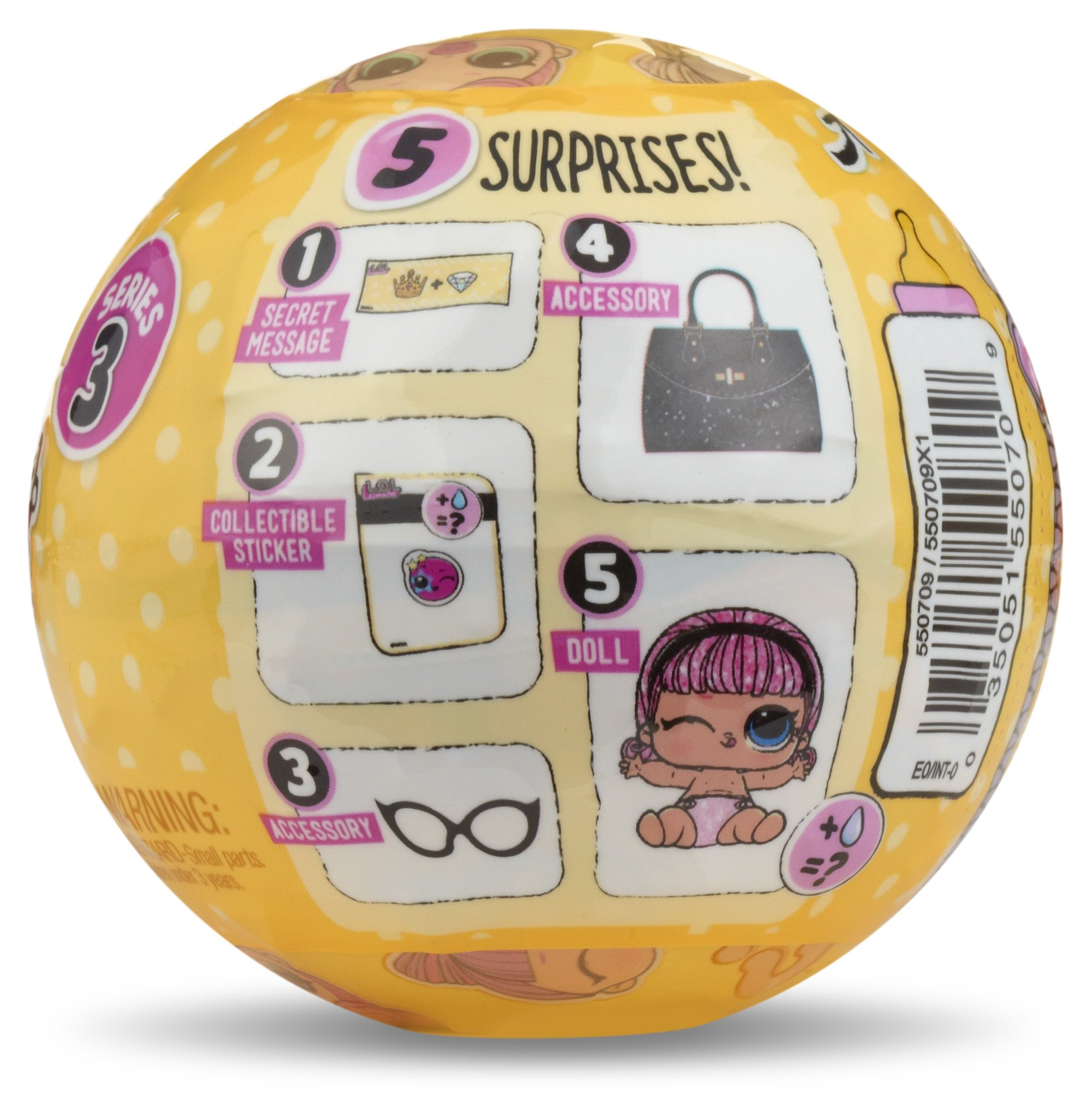 Lol Surprise Lil Sisters Series 3 Collectible Dolls Toys Gamez