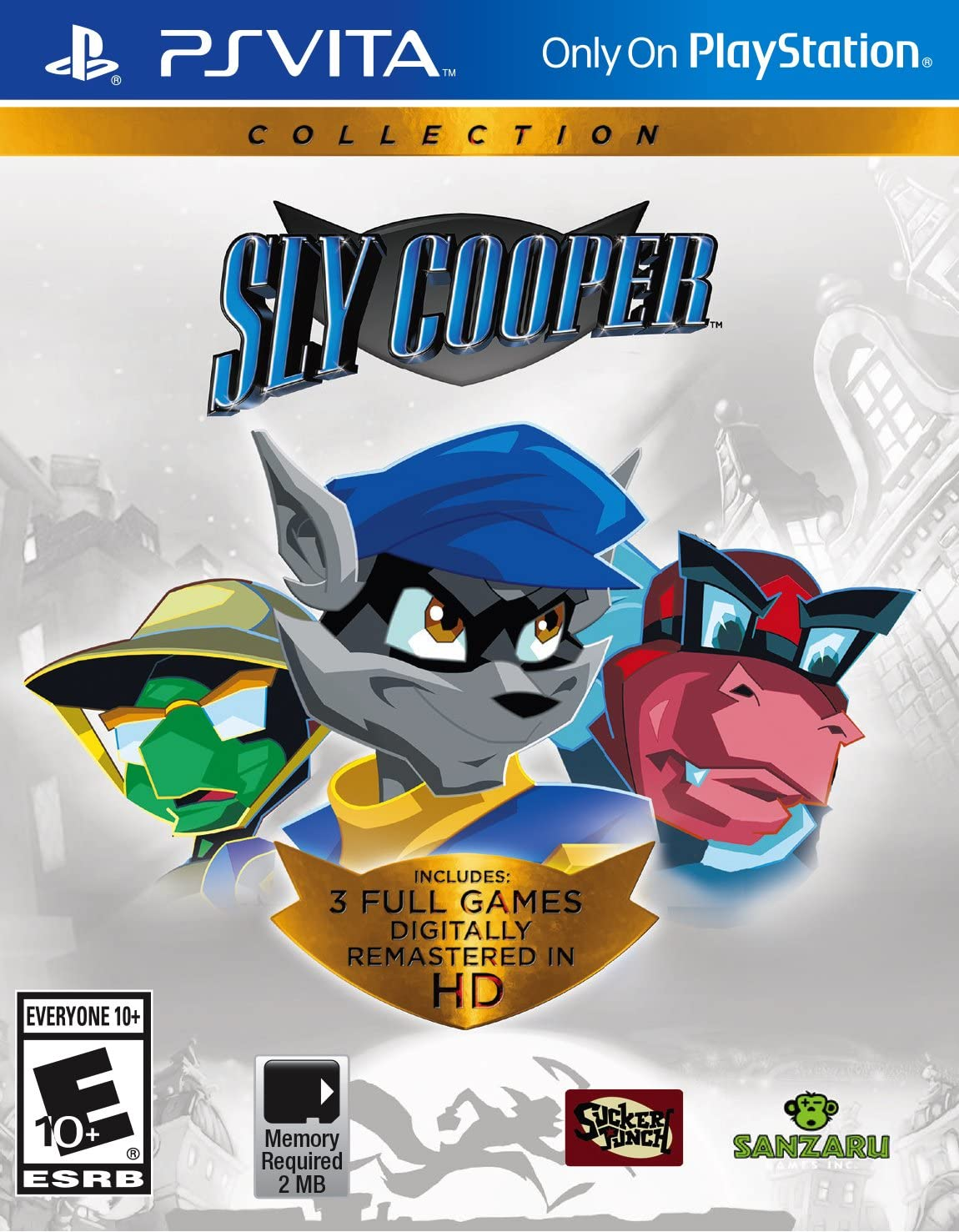 Amazon com: The Sly Collection - PlayStation Vita: Sony