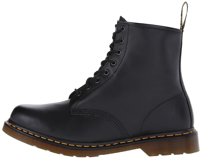Dr. Martens Men's 1460 Combat Boot, 8.5 US B(M) US Women/7.5 D(M) US 8.5 Men B000VUF2X4 9 F(M) UK / 11 B(M) US Women / 10 D(M) US Men|Black Nappa Leather 0e70be