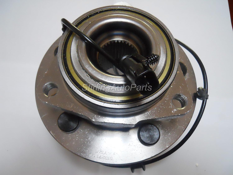2009 For Chrysler Aspen Front Wheel Bearing and Hub Assembly x 2