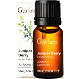 Gya Labs Juniper Berry Essential Oil for Skin Care, Pain Relief, Sleep - Reduce Breakout, Relieve Sore Muscles, Relax Mood -