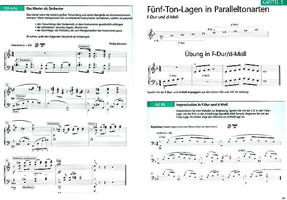 Hal Leonard Piano école pour adultes bande 2 avec 2 CD de Fred nucléaire - EXERCICES, morceaux, technique et Théorie de jeu - avec coloré Cœur Note Pince: ...