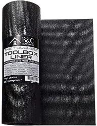 B&C 16 Inch x 16 Feet Professional Tool Box Drawer Liner Foam