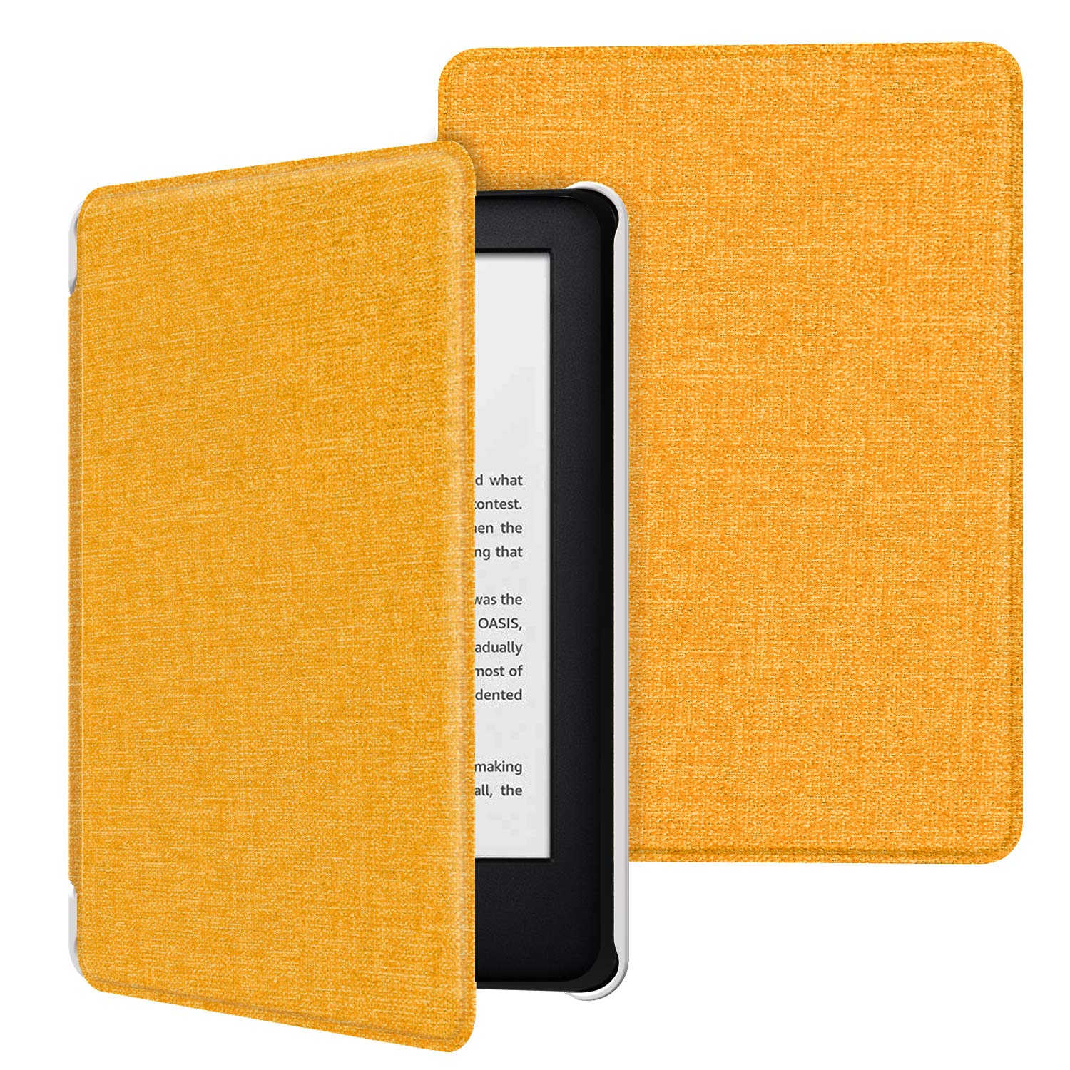 MoKo Funda Compatible con Kindle E-Reader 2019 Ultra Delgada Ligera Smart-Shell Soporte Cover Case Compatible con Kindle 10th Generation 2019 Release Dibujo/ Lineal