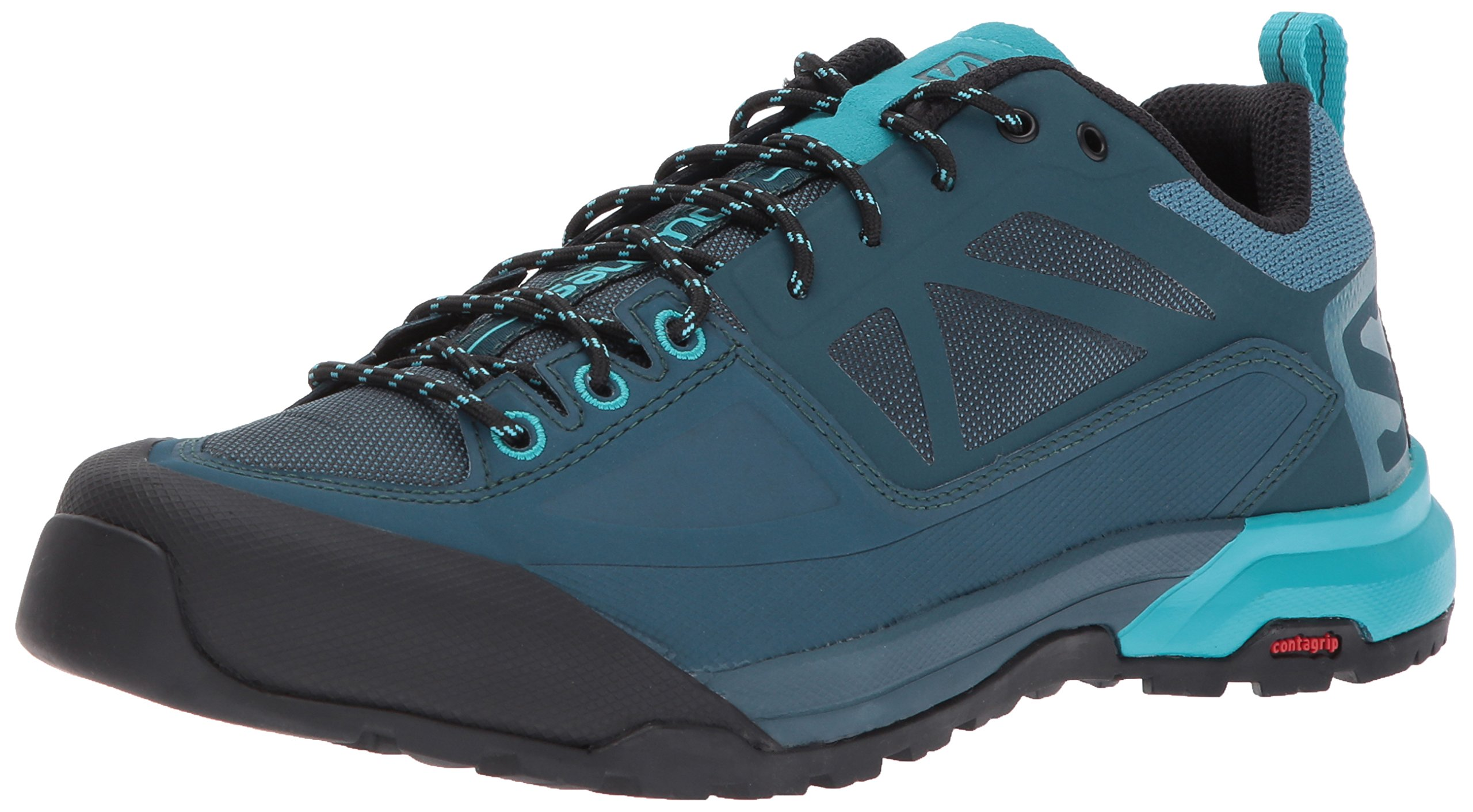 SALOMON Women's X ALP SPRY W Mountaineering Boot, Mallard Reflecting Pond/Blue Bird, 7 M US by SALOMON
