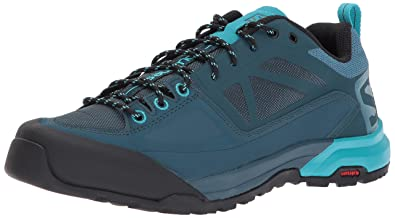 Salomon X Alp Spry Hiking Shoes Women Mallard Blue/Reflecting Pond/Blue Bird UK 4,5