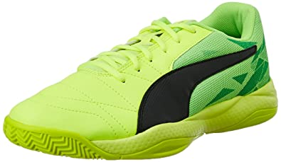 ... get puma mens veloz indoor iii safety yellow puma black and green gecko badminton  shoes 4f245 7982a65ef