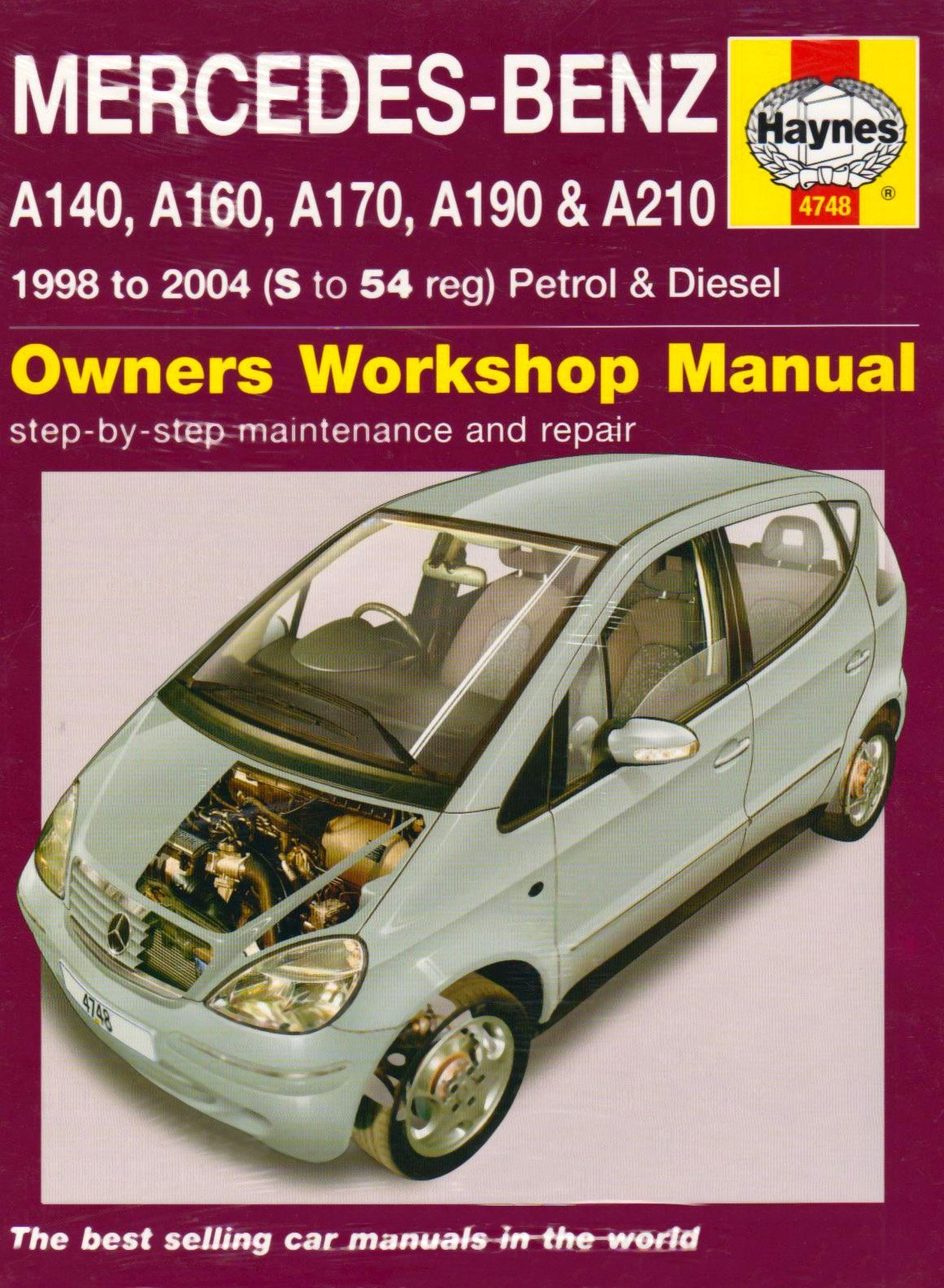 Mercedes-Benz A-Class Petrol & Diesel 1998 - 2004 (S to 54 reg) Haynes  Owners Workshop Manual by Peter T.Gill (2008) Hardcover: Amazon.com: Books