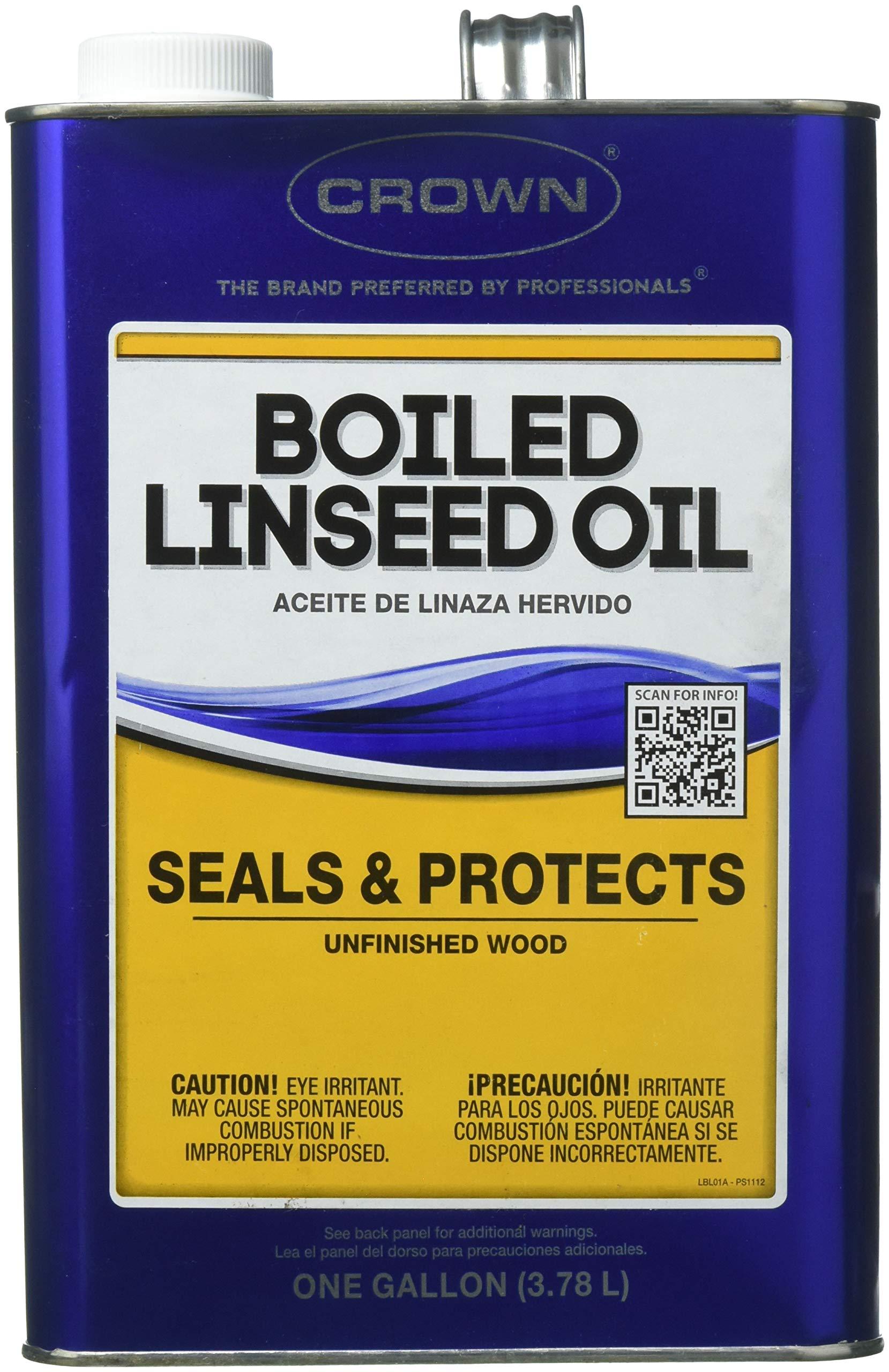 Crown 148656 BL.M.41 1G Boiled Linseed Oil by Crown