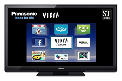 amazon com panasonic viera tc p50st30 50 inch 1080p 3d plasma hdtv rh amazon com Panasonic.comsupportbycncompass Operating Manuals Panasonic Phones