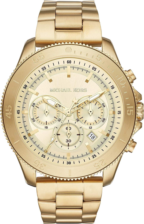 Michael Kors Reloj Cronógrafo para Hombre de Cuarzo