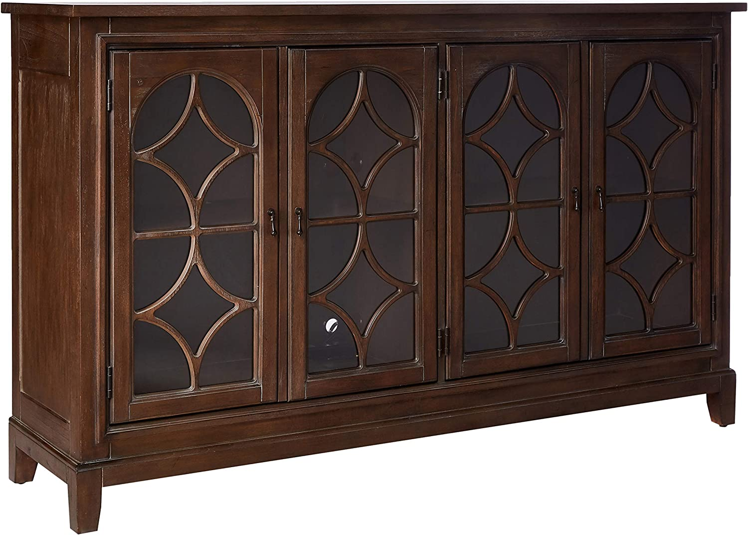 Hekman Furniture Console Arched Doors