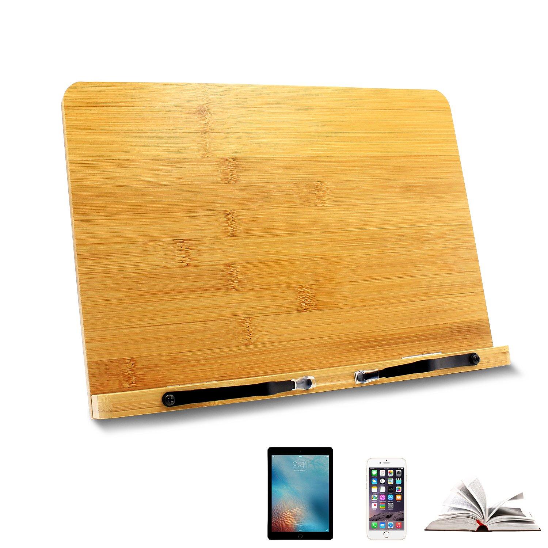 Ulable reading leggio tablet holder leggio ipad per ricettario, libri, tablet, del computer portatile, iPad, smartphone e così via