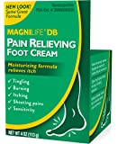 MagniLife DB Pain Relieving Foot Cream Calming Relief for Burning, Tingling, Shooting & Stabbing Foot Pain - Soothes Dry…