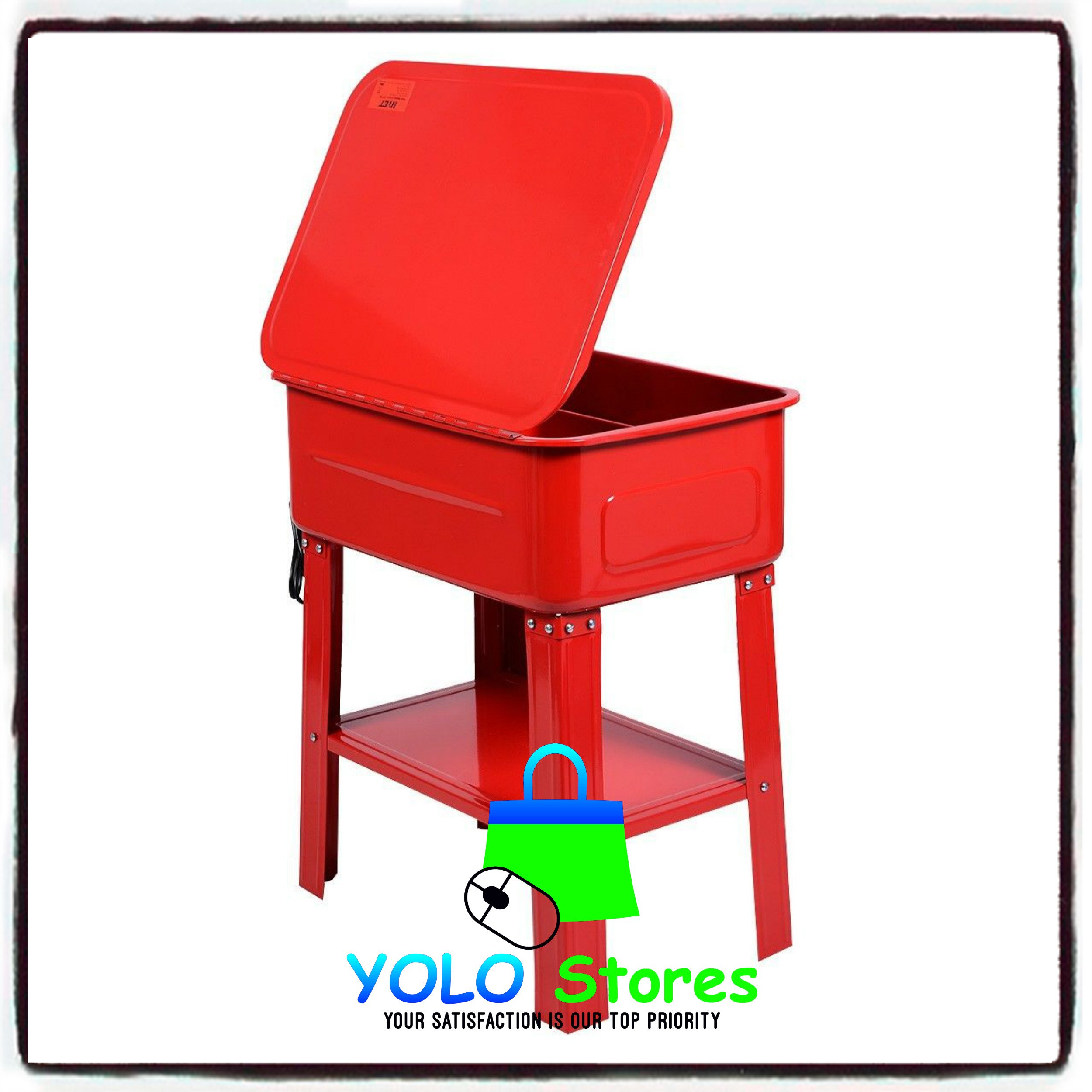 Automotive Parts Washer Cleaner Heavy Duty Electric Solvent Pump 20 Gallon Auto Tools By YOLO Stores by YOLO Stores (Image #8)