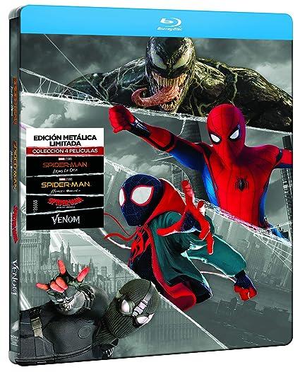 Spider-man - Edición especial metal Colección 4 películas BD Blu ...