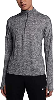 4f598206ca70e Amazon.com  Nike Womens Element Running Workout 1 4 Zip Pullover ...