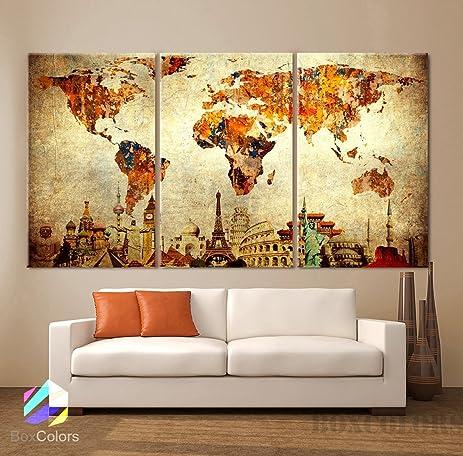 Amazoncom Large 30x 60 3 Panels 30x20 Ea Art Canvas Print