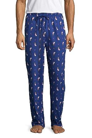 375529dfcd Amazon.com  Stafford Men s Big and Tall Knit Lounge Pants Pajama Sleep  Bottoms  Clothing