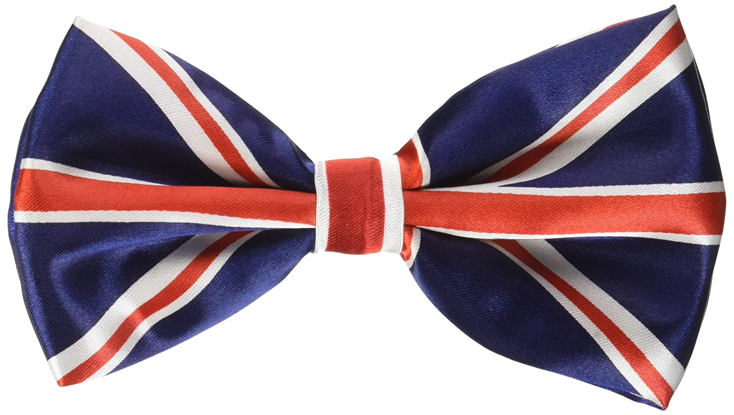 Mirage Pet Products Big Dog Bow Tie British Flag, One Size