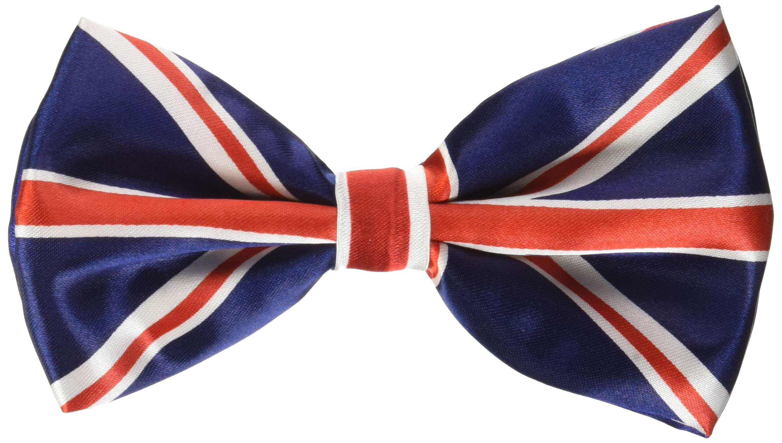 Mirage Pet Products Big Dog Bow Tie British Flag, One Size by Mirage Pet Products