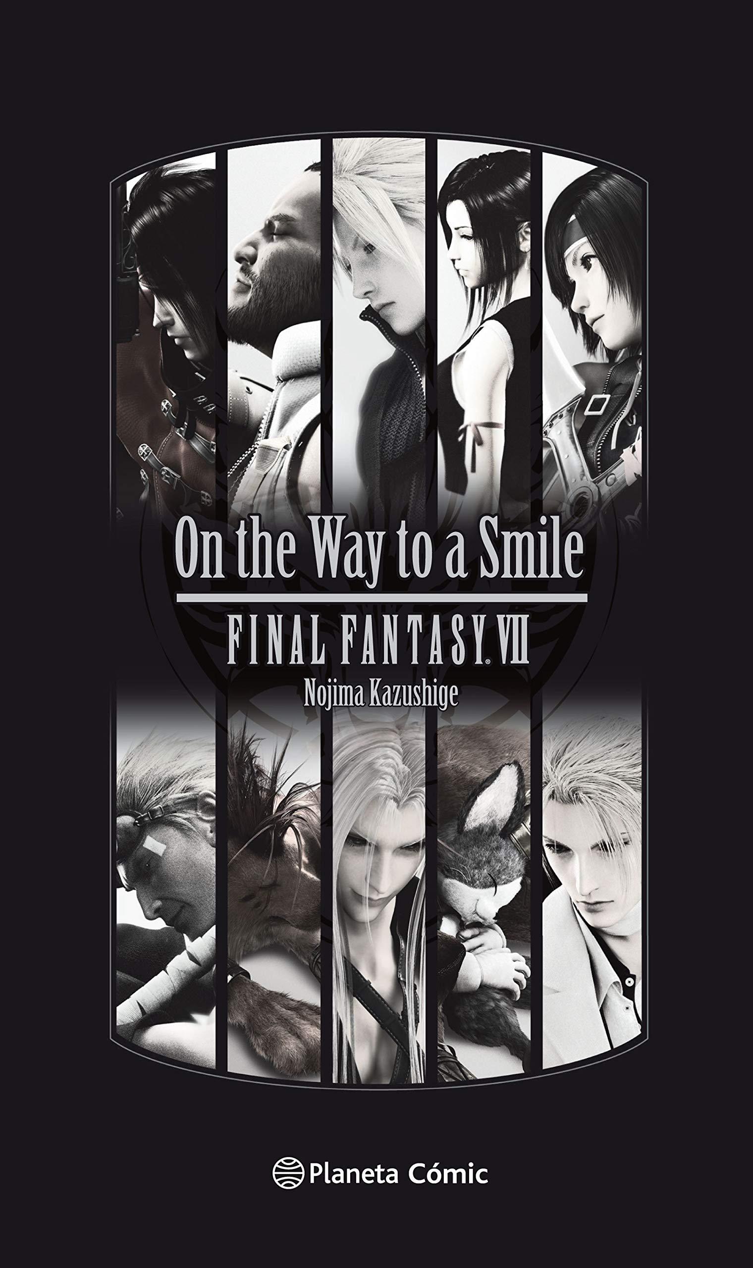 Final Fantasy VII (novela): On the Way to a Smile (Manga Shonen)