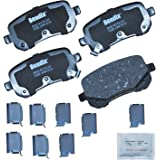 Bendix CFC1326 Premium Copper Free Ceramic Brake Pad (with Installation Hardware Rear)